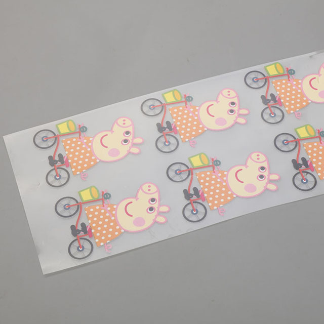 Heat transfer printing label QD-HTPL-0002