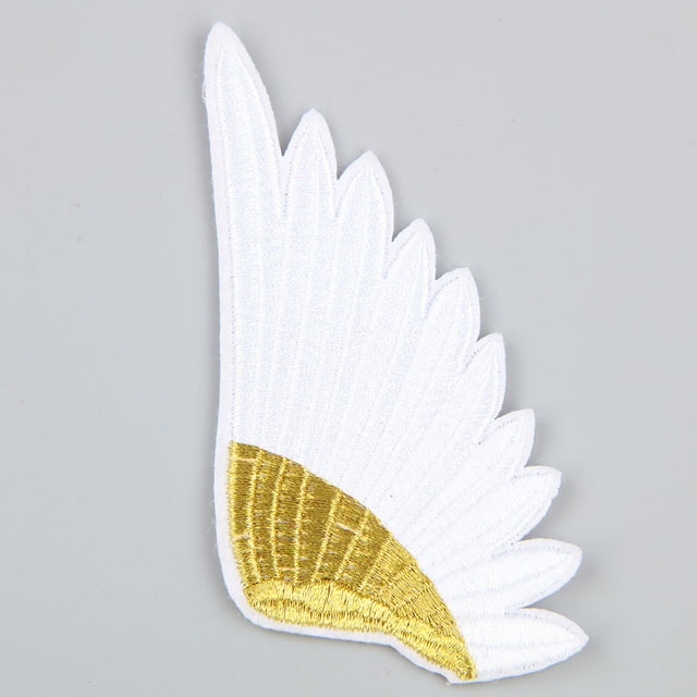 Irregular shape embroidery patch QD-EP-0011