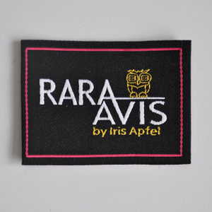 Woven label for garment QD-WL-0013